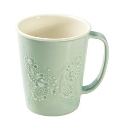 Kermansavi Saimaa mug, colour aqua by Tulikivi.