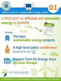 What is the EU Sustainable Energy Week? #EnergyEfficiency #RenewableEnergy