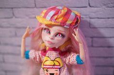 Custom Monster High Doll Viperine Gorgon OOAK Repaint by Prescilla #DollswithClothingAccessories