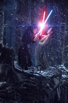 Star Wars: The Force Awakens - Lightsaber Duel