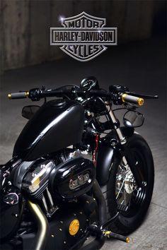 7dda7131 brokenprism bike 48 #HarleyDavidsonBobbers Harley Davidson Chopper, Harley  Davidson Sportster 1200, Sportster 883