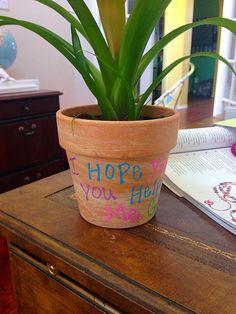 I Hope You Know You Helped Me GROW Easy Teacher Gifts, I Hope You Know, Help Me Grow, Knowing You, Planter Pots
