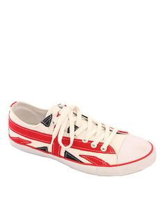 Take a look at this Union Jack Sneaker - Women by Launch on #zulily today!
