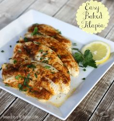 Today I am sharing one of the simplest recipes. It's delicious and a great option with the current Publix sale - Easy Baked Tilapia.