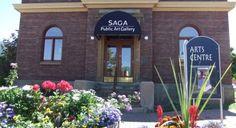 SAGA Public Art Gallery Downtown Salmon Arm