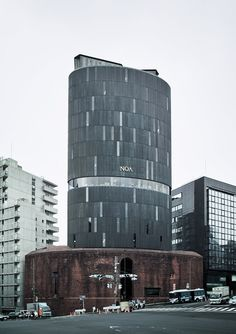 infiniteinterior:  NOA Building ノアビル architect: Seiichi Shirai 白井晟一 location: Azabudai, Tokyo, Japan completion year: 1974 Image source More...