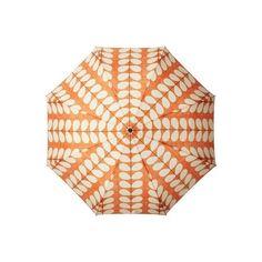 Orla Kiely Cross Hatch Stem Minilite Umbrella ($49) ❤ liked on Polyvore