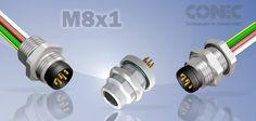 Conectores Conec M8x1