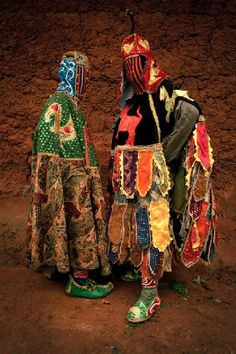 Untitled (Vodou Series) by Leonce Raphael Agbodjelou - Pigozzi Collection 2014 - Contemporary African Art Collection