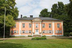 Kulosaaren kartano, Helsinki. Arkkitehti Carl Ludvig Engel. Rakennettu 1810-luvulla.