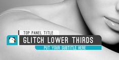 Modern Glitch Lower Thirds Three Logo, Channel Branding, Game Gui, Lower Thirds, Mobile Web Design, Sports Graphics, Ui Web, Editorial Layout, Inspirational Videos