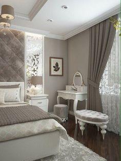 Resultado de imagem para ideias para quartos casal pequenos