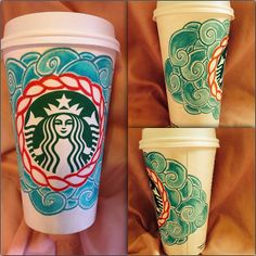 Art by Instagram user @gabby152. #WhiteCupContest