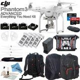 DJI Phantom 3 Advanced Everything You Need Kit With Deluxe Backpack & eDig Kit: Includes 4 Piece Filter Kit, 4 Intelligent Flight Batteries, 4 Battery Charging Hub and more... - http://dronesheaven.ianjweboffers.com/dji-phantom-3-advanced-everything-you-need-kit-with-deluxe-backpack-edig-kit-includes-4-piece-filter-kit-4-intelligent-flight-batteries-4-battery-charging-hub-and-more/
