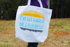 Stenciled Tote Bag using Lifestyle Crafts dies