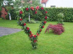 Ein Herz zur Rubinhochzeit
