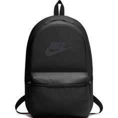 Nike - Heritage Backpack from Aries Apparel - 35 Heritage Backpack, Black  Backpack, Detail fb347f070f