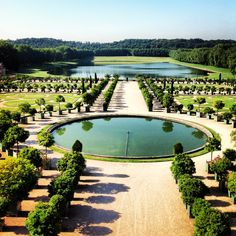 Versailles Versailles Garden, Palace Of Versailles, Royal Palace, Stuff To Do, Golf Courses, Castle, Around The Worlds, Gardens, Spaces