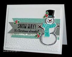 Stampin' Up! Snow Place Stamp Set