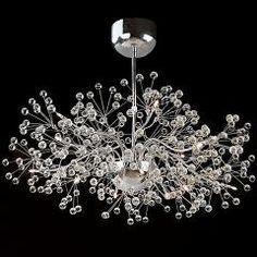 [ $33 OFF ] Beautiful Home Crystal Chandelier Lampadario Moderno Led Lamparas Ac110-240V Crystal Lighting Fixtures Indoor Lights
