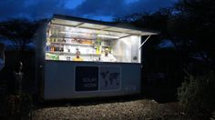 The world's first SolarKiosk opens in Ethiopia..