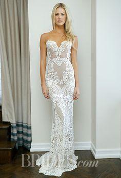 A sexy, lingerie-style @bertabridal wedding dress   Brides.com