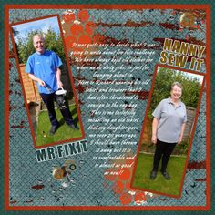 Country Liv's Graphics - Mr Fixit and Nanny Sewit - ScrapBird Gallery