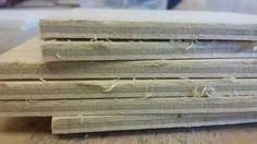 Deze plankjes ga ik gebruiken voor de rondjes uit te zagen.