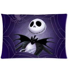 UniqueType Popular Cartoon Jack Skellington Nightmare Before Christmas Sally Love Gift Throw Pillowcase Zippered Pillow Cover Nightmare Before Christmas Pictures, Nightmare Before Christmas Wallpaper, Jack Skellington, Coraline, Fb Covers, Pillow Covers, Timeline Covers, Timeline Photos, Jack Y Sally