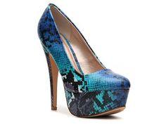 Qupid Penelope-01 Pump Peep Toes Pumps & Heels Women's Shoes - DSW
