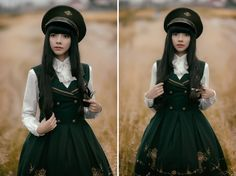 ♥ Photography: FanoRED ♥ Lolita: May Sakaali I am a big fan of military stuff and mixed with Lolita is a great combination! I found an old revolver in my grandparents house and I though...