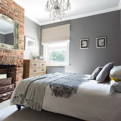 Bedroom | Victorian garden flat in East Sussex | House tour | PHOTO GALLERY | Style at Home | Housetohome.co.uk