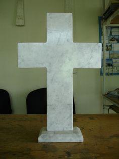 para el día de muertos cruz de mármol grabada vv4