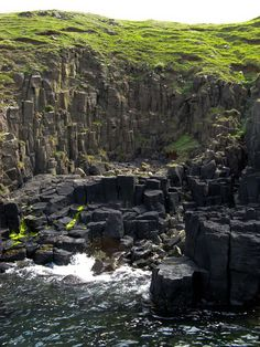The hidden Cave of Gold is Skye's answer to the Giant's Causeway. Scotland