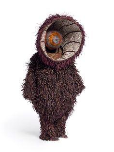 Soundsuit by textile artist Nick Cave Nick Cave Artist, Textiles, Nick Cave Soundsuits, Modern Art, Contemporary Art, Kansas City Art Institute, Art Costume, Costumes, Sound Art