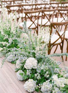 An Elegant Floral La Jolla Wedding in San Diego, CA: Modern Details and Bountiful Florals - an Aisle Planner Real Wedding. Bhldn Bridesmaid Dresses, Bill Levkoff Bridesmaid, Blue Candles, San Diego Wedding, Wedding Coordinator, Wedding Designs, Seaside, Real Weddings, Floral Design