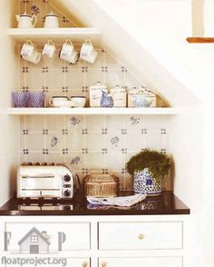 Or some extra counter space in your kitchen?