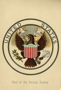 bookplate of the United States Seal