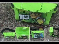 Dulcero Ben 10 y Hulk en forma de canguro, birthday bag ben 10 and hulk, shaped kangaroo - YouTube