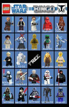 Lego Star Wars bingo