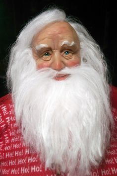 Lifesize santa I made,hand sculpted face and hands | My Creations ...