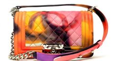 Preview of the Chanel Spring / Summer 2015 Runway Bags with Tie Dyed Boy Bags | Spotted Fashion