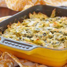 Découvrez la recette de Pâtes aux épinards gratinées au chèvre, Plat à réaliser facilement à la maison pour 2 personnes avec tous les ingrédients nécessaires et les différentes étapes de préparation. Régalez-vous sur Recettes.net
