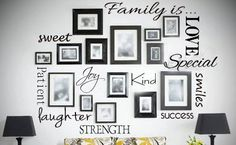 Small Family is.... Vinyl Wall Art by KreativeCorner on Etsy