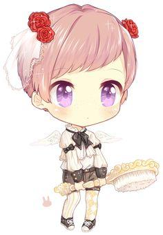 C: Shion by Jorsu on DeviantArt #art #anime #chibi ❥ڿڰۣ--
