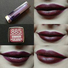 #Day9 Maybelline Color Sensational Loaded Bolds 885 Midnight Merlot