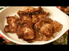Using My NuWave Oven to Make Healthy Chicken Breaded With My Homemade Br...