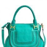 Goodbye Black Leather Bag, Hello Bright New Spring Purse via SheFinds > Chloe 'Marcie'   Arm Candy a la #Nordstrom #GreenHills #TN #Handbags #MichelleSchwantes