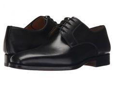 Magnanni Colo (Black) Men's Plain Toe Shoes