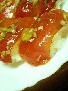 Marinated Tuna Sushi